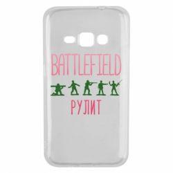 Чохол для Samsung J1 2016 Battlefield rulit