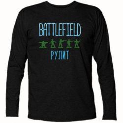 Футболка з довгим рукавом Battlefield rulit