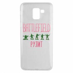 Чохол для Samsung J6 Battlefield rulit