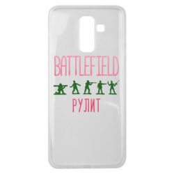Чохол для Samsung J8 2018 Battlefield rulit