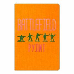 Блокнот А5 Battlefield rulit