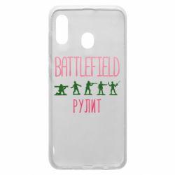 Чохол для Samsung A20 Battlefield rulit