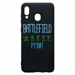 Чохол для Samsung A30 Battlefield rulit