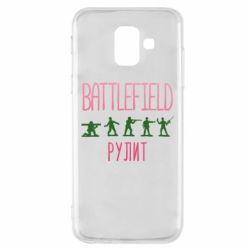 Чохол для Samsung A6 2018 Battlefield rulit