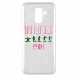 Чохол для Samsung A6+ 2018 Battlefield rulit