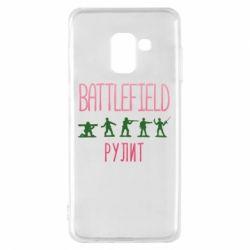 Чохол для Samsung A8 2018 Battlefield rulit