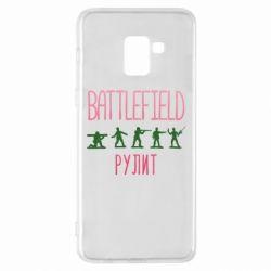 Чохол для Samsung A8+ 2018 Battlefield rulit
