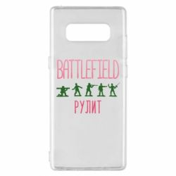 Чохол для Samsung Note 8 Battlefield rulit