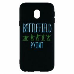 Чохол для Samsung J3 2017 Battlefield rulit