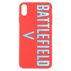Чохол для iPhone X/Xs Battlefield V logotip