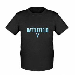 Дитяча футболка Battlefield V logotip