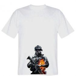 Мужская футболка Battlefield Warrior - FatLine