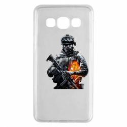 Чехол для Samsung A3 2015 Battlefield Warrior