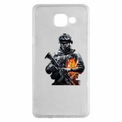 Чехол для Samsung A5 2016 Battlefield Warrior