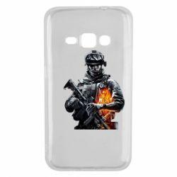 Чехол для Samsung J1 2016 Battlefield Warrior