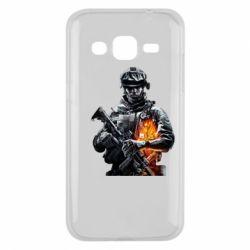 Чехол для Samsung J2 2015 Battlefield Warrior