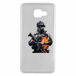 Чехол для Samsung A7 2016 Battlefield Warrior