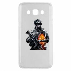 Чехол для Samsung J5 2016 Battlefield Warrior