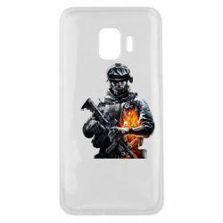 Чехол для Samsung J2 Core Battlefield Warrior
