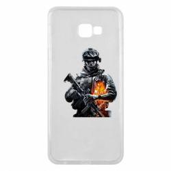 Чехол для Samsung J4 Plus 2018 Battlefield Warrior