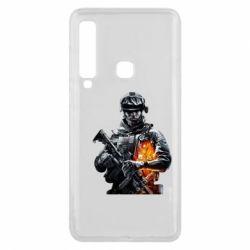 Чехол для Samsung A9 2018 Battlefield Warrior