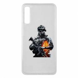 Чехол для Samsung A7 2018 Battlefield Warrior