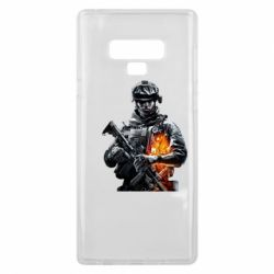 Чехол для Samsung Note 9 Battlefield Warrior