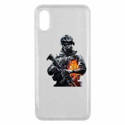 Чехол для Xiaomi Mi8 Pro Battlefield Warrior