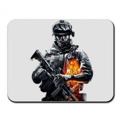 Коврик для мыши Battlefield Warrior - FatLine