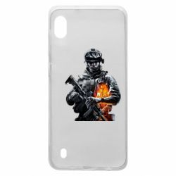 Чехол для Samsung A10 Battlefield Warrior