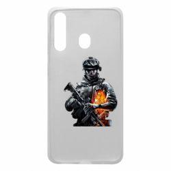 Чехол для Samsung A60 Battlefield Warrior
