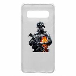 Чехол для Samsung S10 Battlefield Warrior