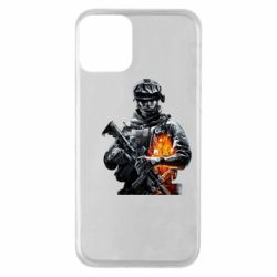 Чехол для iPhone 11 Battlefield Warrior