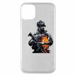 Чехол для iPhone 11 Pro Battlefield Warrior