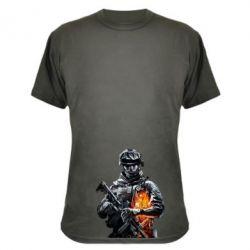 Камуфляжная футболка Battlefield Warrior - FatLine