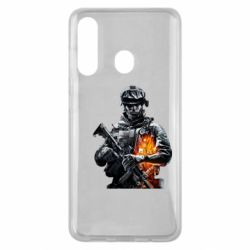 Чехол для Samsung M40 Battlefield Warrior