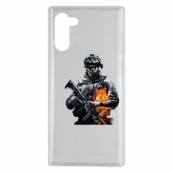 Чехол для Samsung Note 10 Battlefield Warrior