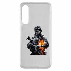 Чехол для Xiaomi Mi9 SE Battlefield Warrior