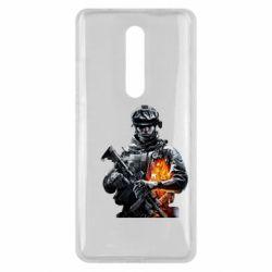 Чехол для Xiaomi Mi9T Battlefield Warrior