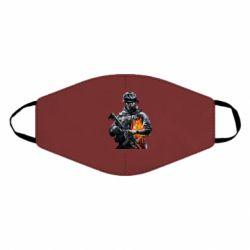 Маска для лица Battlefield Warrior