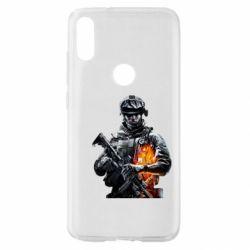 Чехол для Xiaomi Mi Play Battlefield Warrior