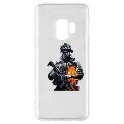 Чехол для Samsung S9 Battlefield Warrior