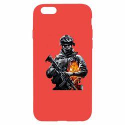 Чехол для iPhone 6/6S Battlefield Warrior