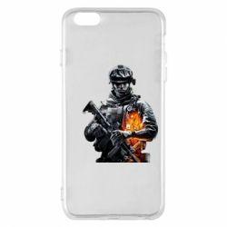 Чехол для iPhone 6 Plus/6S Plus Battlefield Warrior