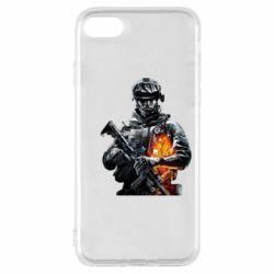 Чехол для iPhone 7 Battlefield Warrior