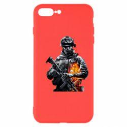Чехол для iPhone 7 Plus Battlefield Warrior