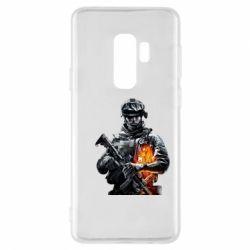 Чехол для Samsung S9+ Battlefield Warrior