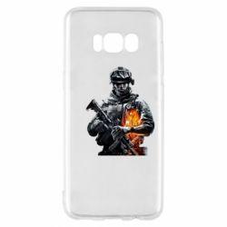 Чехол для Samsung S8 Battlefield Warrior
