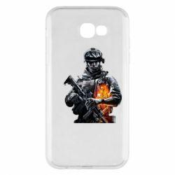Чехол для Samsung A7 2017 Battlefield Warrior