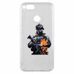 Чехол для Xiaomi Mi A1 Battlefield Warrior